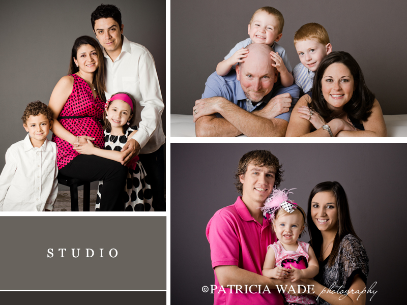 studio family session