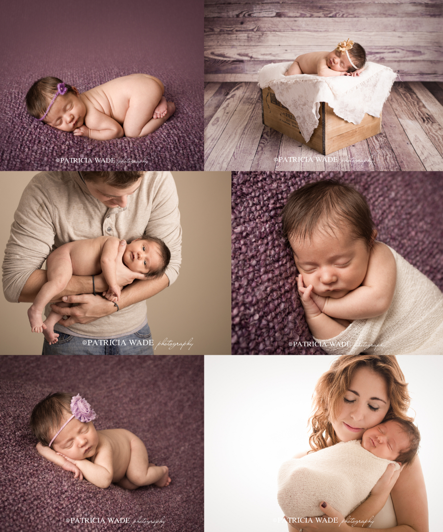 This baby was 4 weeks old at her session. I still recommend getting them to my studio earlier, if at all possible.